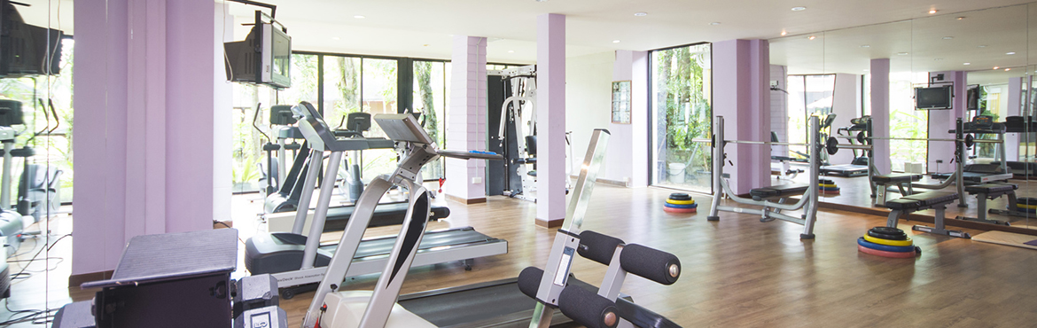 Fitness Center and gym for exercise, sport